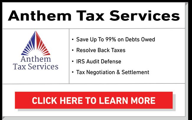 anthem tax services